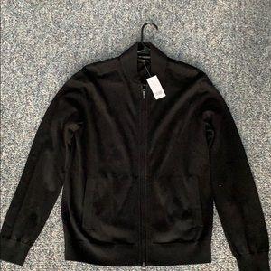 Men's small Black Banna Republic LS sweater